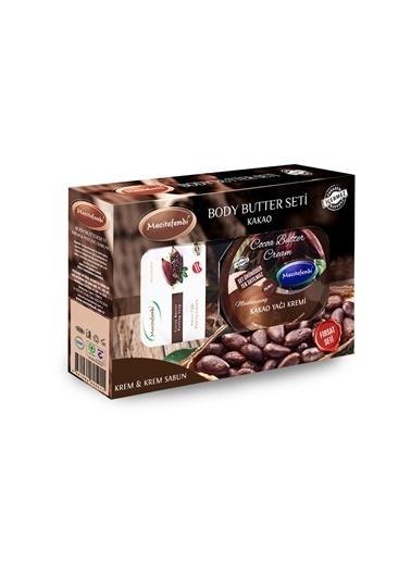 Kakao Yağı Kremi (200 Ml.) + 100 Gr Kakao Peelıng Sabun Seti-Mecitefendi